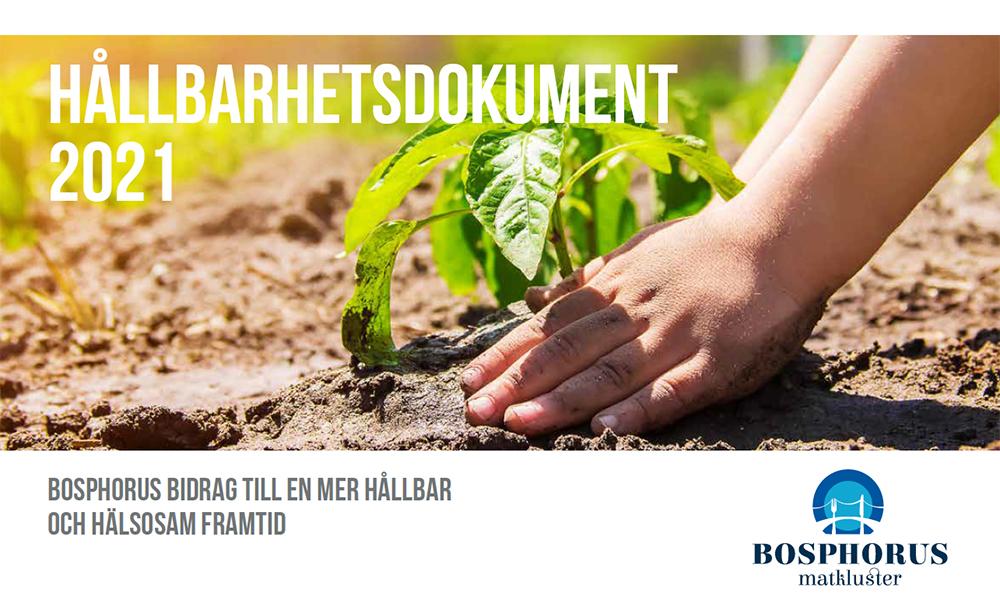 Bosphours matkluster, Hållbarhetsdokument
